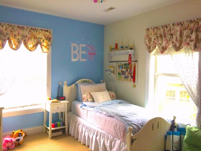 Zoe's bed